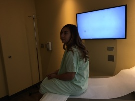 Waiting for the procedure